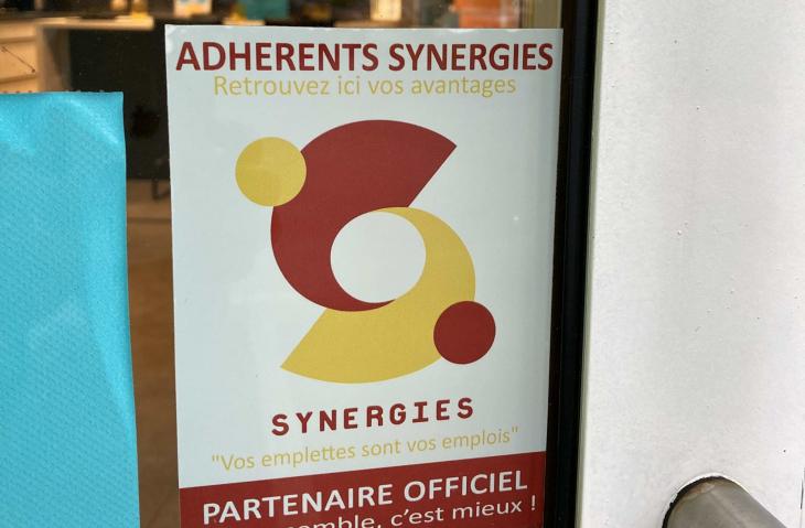 Partenaire Synergies depuis 3 ans  !
