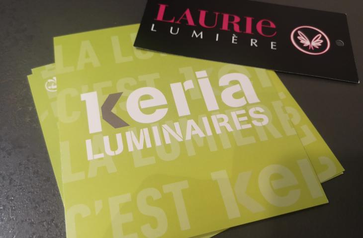 Partenariat avec Keria et Laurie Luminaire Claye Souilly