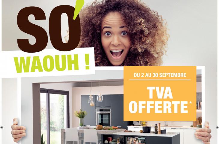 Promotion TVA offerte