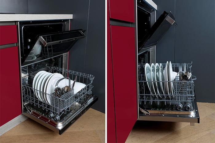 cuisine équipée choix électroménager lave-vaisselle