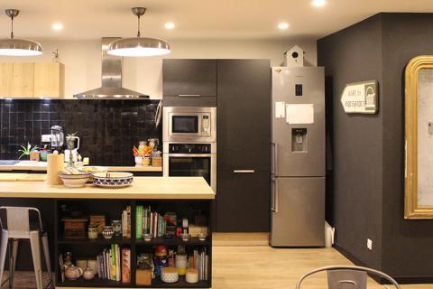 Témoignage client : découvrez la cuisine avec îlot central ...