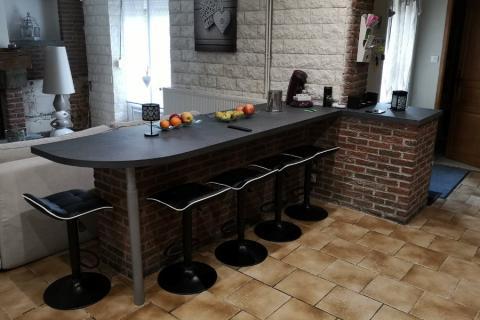 La cuisine de Victorien et Severine, une cuisine réalisée par SoCoo'c Maubeuge