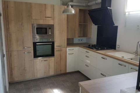 Une cuisine rénovée chaleureuse