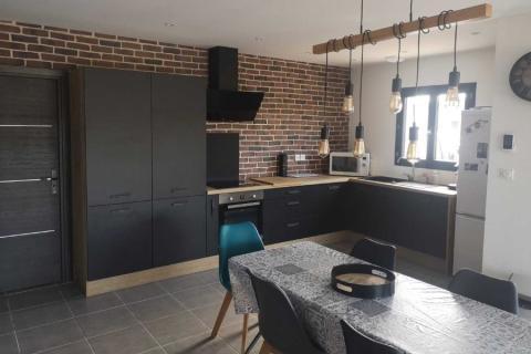 Une cuisine au look industriel , une cuisine réalisée par SoCoo'c Avignon Vedene