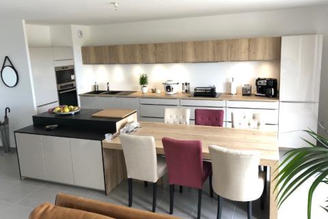 Une cuisine moderne et cocooning