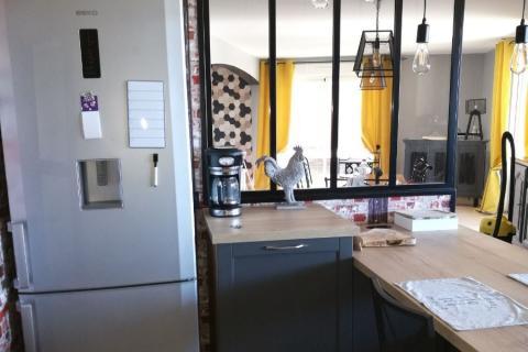 Une cuisine au style campagne chic ! , une cuisine réalisée par SoCoo'c Tours