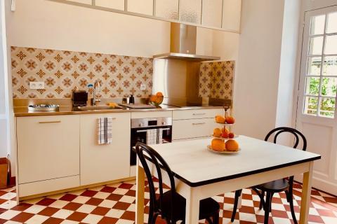 Cuisine Vintage par Adrien, une cuisine réalisée par SoCoo'c Pau