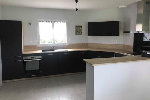 La cuisine noire et bois de Lauriane et David