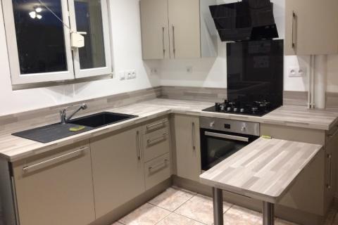 Cuisine fonctionnelle dans un espace réduit, une cuisine réalisée par SoCoo'c Charleville