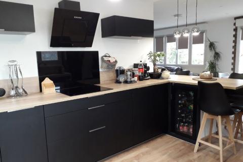 Jolie cuisine Atelier, une cuisine réalisée par SoCoo'c Saint-Lo