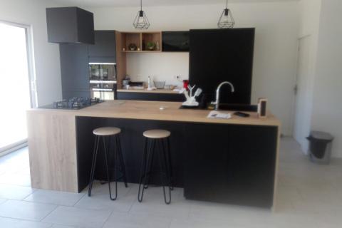 La cuisine de Carol Ann et Eddy, une cuisine réalisée par SoCoo'c Châteauroux