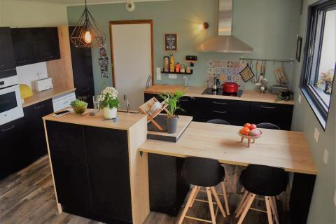 La cuisine d'Anthony et Camille, une cuisine réalisée par SoCoo'c Redon
