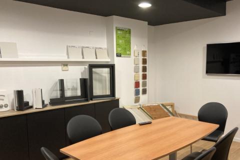 Une cuisine SoCoo'C dans une salle de réunion !, une cuisine réalisée par SoCoo'c La Rochelle