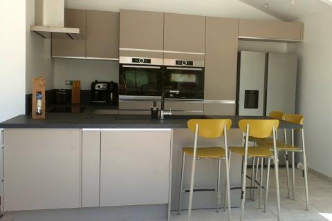 Une cuisine parfaitement optimisée, une cuisine réalisée par SoCoo'c Valence