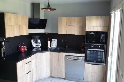 Avant / Après chez Christophe et Sophie, une cuisine réalisée par SoCoo'c Chambly