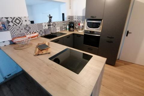 Bienvenue dans la cuisine de Christelle et Grégory, une cuisine réalisée par SoCoo'c Valenciennes