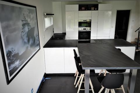La cuisine de Cyrille et Sylvie, une cuisine réalisée par SoCoo'c Redon