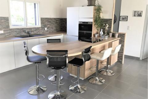 La cuisine de Christophe et Pascale, une cuisine réalisée par SoCoo'c Redon