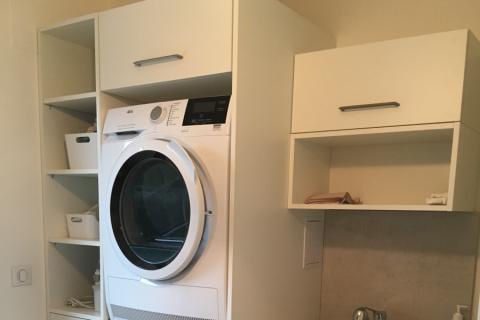 Aménagement d'un cellier, une cuisine réalisée par SoCoo'c Colmar