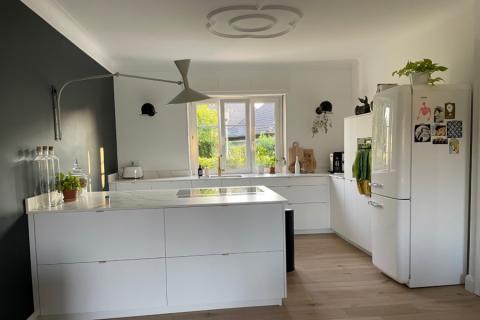 Cuisine blanche et quartz, une cuisine réalisée par SoCoo'c Mulhouse Wittenheim