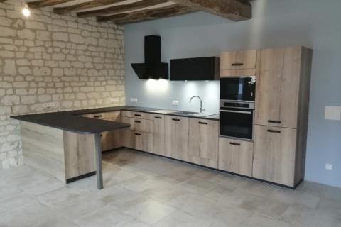 La cuisine de Angélique et Mickaël !, une cuisine réalisée par SoCoo'c Saumur