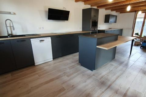 Cuisine Industrielle / Bistro à Gatey ( Jura ), une cuisine réalisée par SoCoo'c Dole