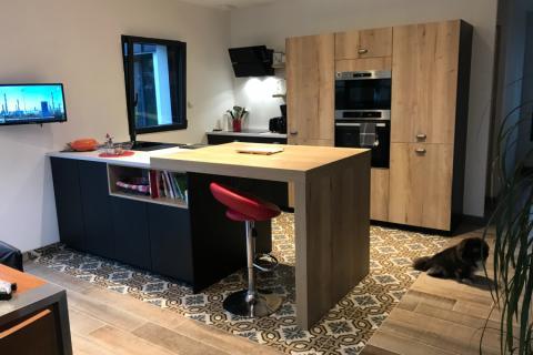La cuisine de Murielle et Laurent!, une cuisine réalisée par SoCoo'c Vannes