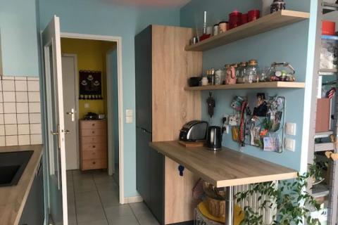 Cuisine Anthracite et chêne Bardolino, une cuisine réalisée par SoCoo'c Grenoble St Martin
