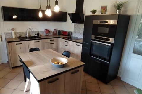La cuisine de Mr Et Mme A., une cuisine réalisée par SoCoo'c Niort