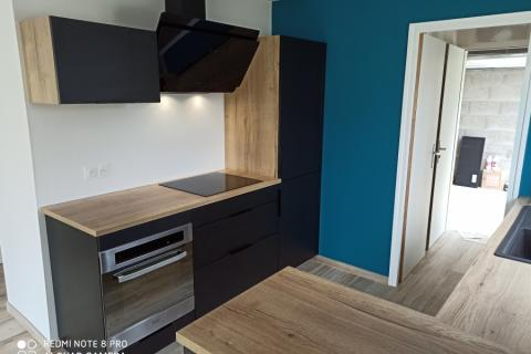 La cuisine de Fabienne!, une cuisine réalisée par SoCoo'c Vannes