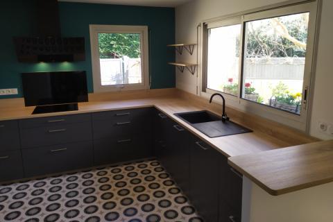 La cuisine de Sophie, une cuisine réalisée par SoCoo'c Angers Lac de Maine