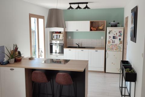 La cuisine de Mr B et Mme P, une cuisine réalisée par SoCoo'c Saint Nazaire