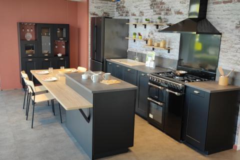 La cuisine d'expo baroque, indémodable., une cuisine réalisée par SoCoo'c Boulogne sur Mer