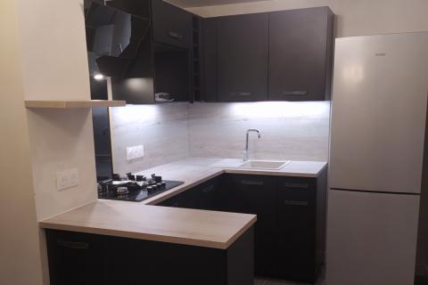 Une petite cuisine au top !, une cuisine réalisée par SoCoo'c Lisieux