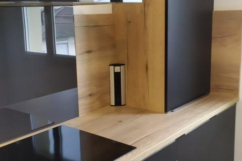 CUISINE EN L, une cuisine réalisée par SoCoo'c Belfort