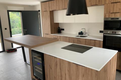 La cuisine d'Adrien, une cuisine réalisée par SoCoo'c Saumur