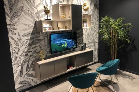 Meuble Tv, une cuisine réalisée par SoCoo'c Royan