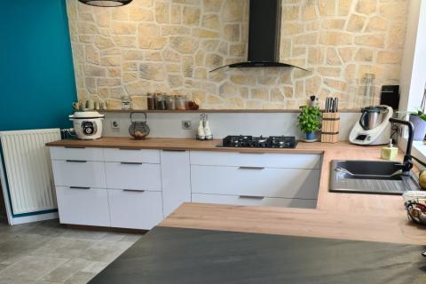 La cuisine de Laurence et Joel, une cuisine réalisée par SoCoo'c Montévrain