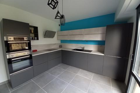 La nouvelle cuisine de Mme M à Mouvaux, une cuisine réalisée par SoCoo'c Marquette Lez Lille