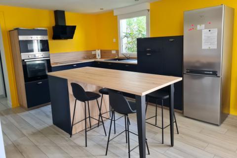 Une cuisine qui se démarque ! , une cuisine réalisée par SoCoo'c Saint Malo