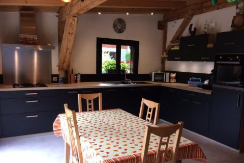 Cuisine au total look Haute-Savoie, une cuisine réalisée par SoCoo'c Annemasse Ville la Grand