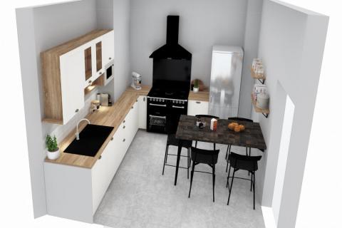 Une cuisine pour tous , une cuisine réalisée par SoCoo'c Seclin