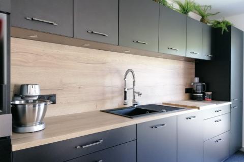 La cuisine de Lena et Pierre, une cuisine réalisée par SoCoo'c Montévrain
