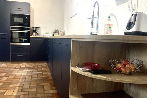 Cuisine en L, une cuisine réalisée par SoCoo'c Bourg en Bresse