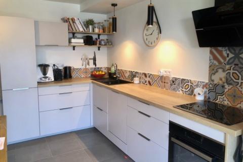 La cuisine de Noellie et Christophe, une cuisine réalisée par SoCoo'c Châteauroux
