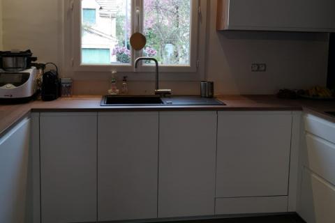 La cuisine : Avant / Après de chez Tony, une cuisine réalisée par SoCoo'c Chambly