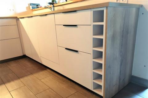 La cuisine de Nelly, une cuisine réalisée par SoCoo'c Redon