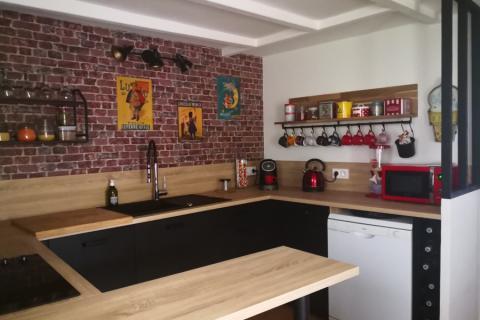 Le cuisine Indus de Julia !, une cuisine réalisée par SoCoo'c La Rochelle