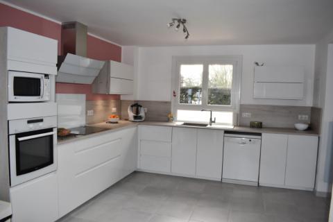 Une cuisine girly , une cuisine réalisée par SoCoo'c Dieppe