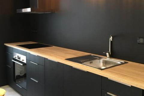 Esprit loft, cuisine indus !, une cuisine réalisée par SoCoo'c Saint Malo